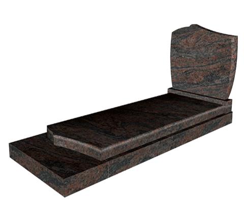 Colline (ST05) - Himalaya Blue Monument funéraire Sansone Origine personnalisable classiques ou contemporains