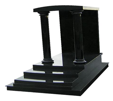 Ermitage - Noir Fin Monument funéraire Sansone Origine personnalisable classiques ou contemporains