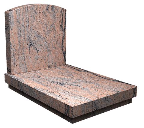 Le monument Coupole Sansone Origine en Indian Juparana
