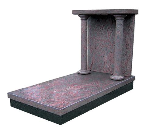 Ombrage - Rose Tupim Monument funéraire Sansone Origine personnalisable classiques ou contemporains