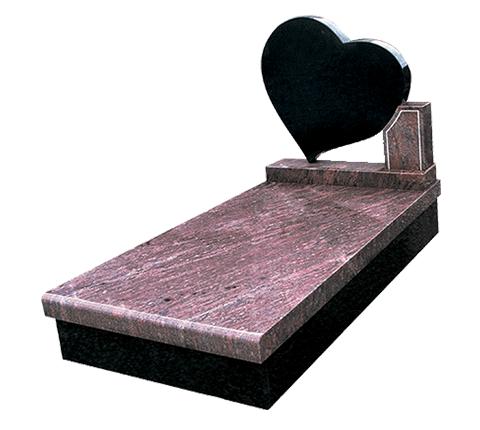 Pensée - Rose Dalva Monument funéraire Sansone Origine personnalisable classiques ou contemporains