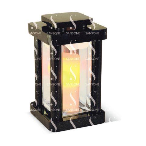 LA0425 -  Lanterne carrée en granit
