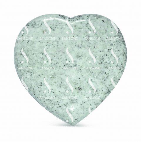 CO2004 - Petit coeur en granit