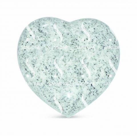 CO1515 - Petit coeur bombé en granit