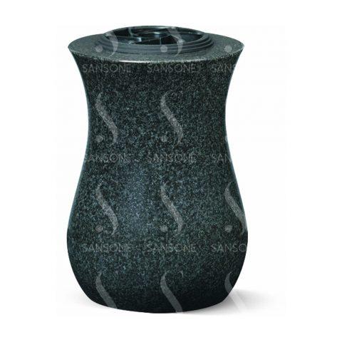 T51 - Vase tourné en granit
