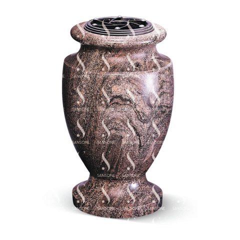 T8 - Vase tourné en granit