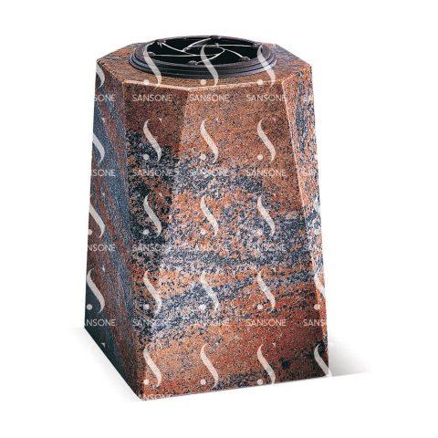 V2501 - Vase carré en granit