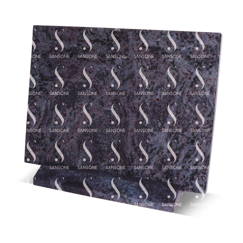 PLR2030 - Plaque rectangle en granit avec socle