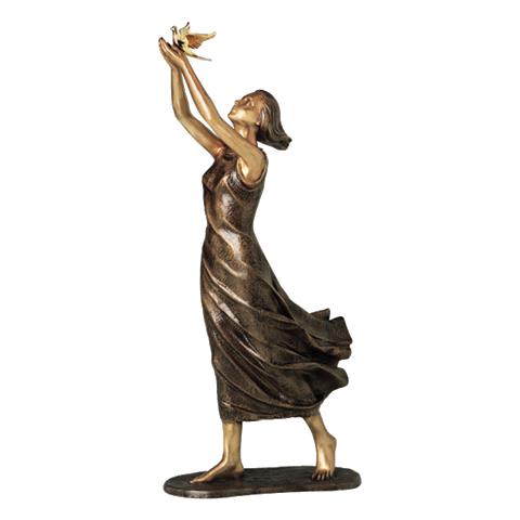 Accessoires en bronze adaptés aux concessions. Ange-bronze