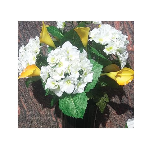Bouquet de fleurs artificielles