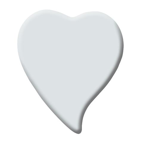 Photo Porcelaine – Représentation de la photographie du défunt sur un support porcelaine coeur-larme-1