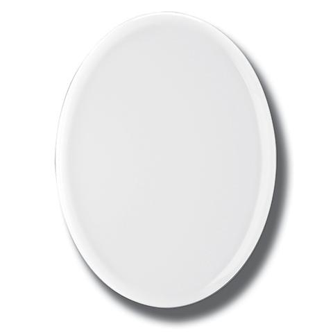 Photo Porcelaine – Représentation de la photographie du défunt sur un support porcelaine ovale