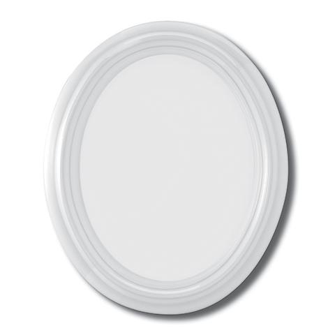Photo Porcelaine – Représentation de la photographie du défunt sur un support porcelaine ovale-avec-moulure