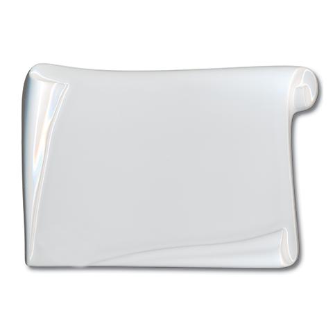 Photo Porcelaine – Représentation de la photographie du défunt sur un support porcelaine parchemin-rectangle