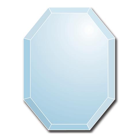 Photo Porcelaine – Représentation de la photographie du défunt sur un support porcelaine Verre octogonal