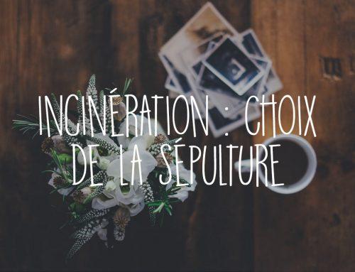 Incinération : choix du monument